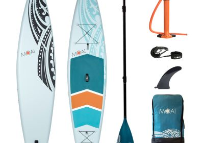 MOAI 12'6 package, US Finbox, Fiberglass paddle.