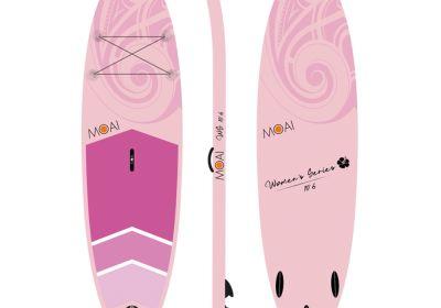 MOAI 10'6 package, US Finbox, Fiberglass paddle (WS)